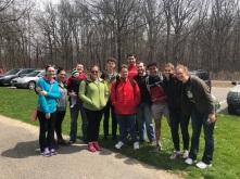 Hike at Highbanks April 2018