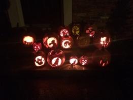 Pumpkin Carving October 2018