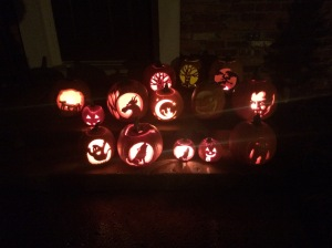 Pumpkin Carving October 2018
