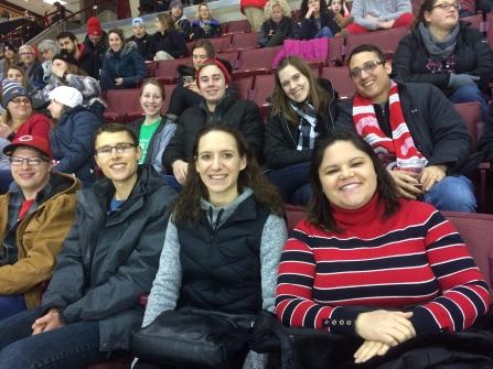 OSU Hockey Game February 2019